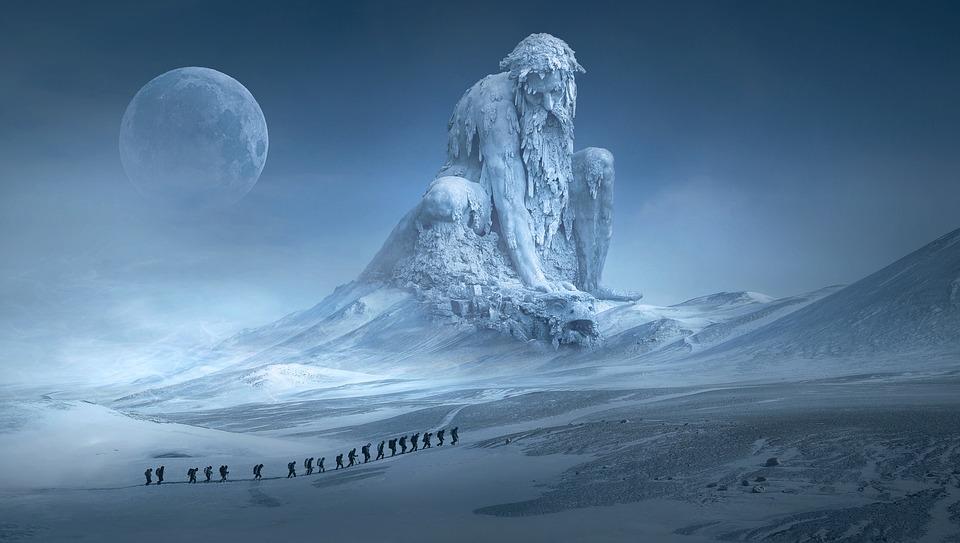 BHP przy robieniu zdjęć w zimie