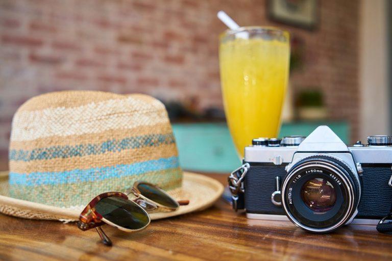 BHP przy robieniu zdjęć w lecie